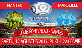 Prediksi Nantes vs Marseille 12 Agustus 2017