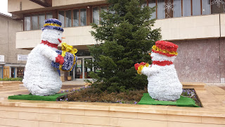 Snowmen, Snow, Yambol,
