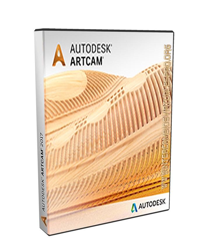 Autodesk ArtCAM 2018 poster box cover