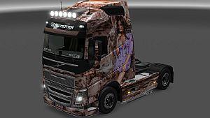 Diana Morales skin for Volvo 2012 & 2013