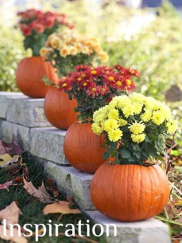 How To Fall Pumpkin Planters 17 Apart