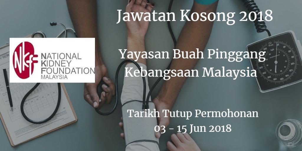 Jawatan Kosong NKF 03 - 15 Jun 2018