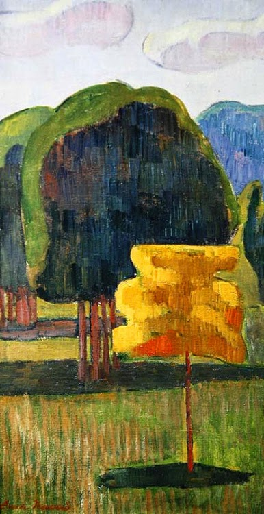 Árvore Amarela - Émile Bernard e suas principais pinturas