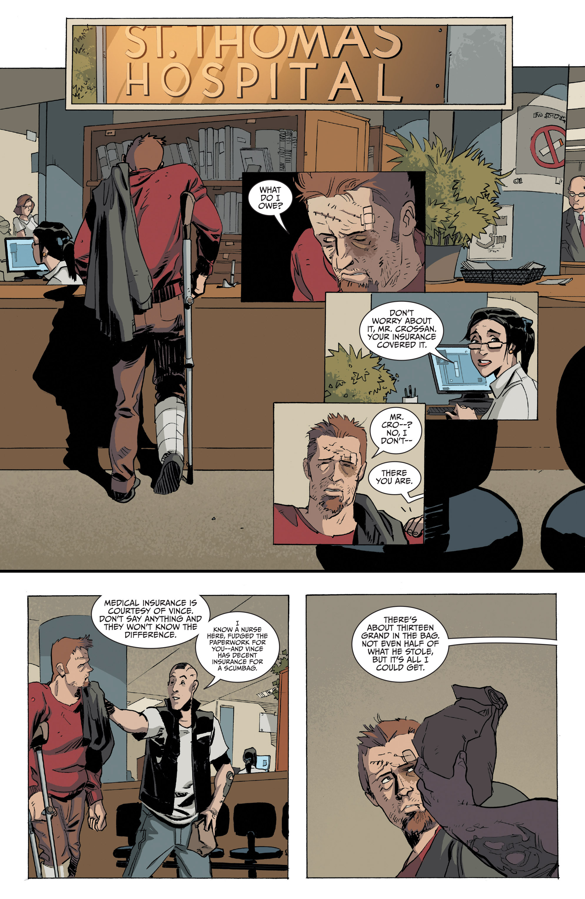 Read online Sons of Anarchy comic -  Issue #16 - 21