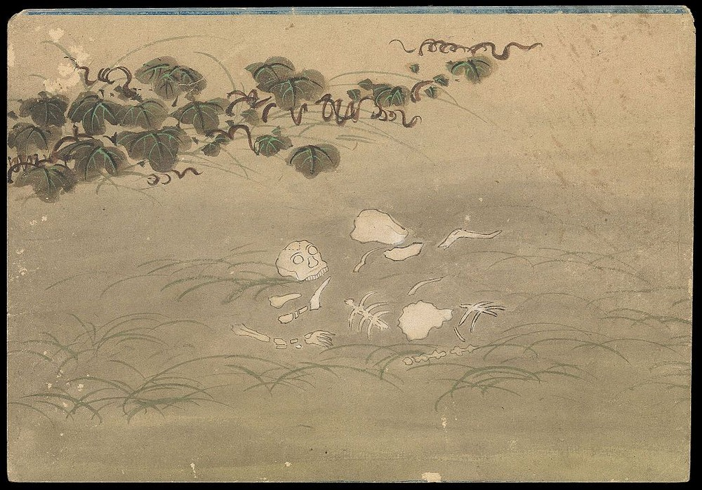 kusozu-The death of a noble lady and the decay of her body