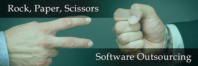 Software Development Outsourcing Hacks - Rock paper scissors