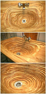 Wooden Sink Designs and Ideas !!