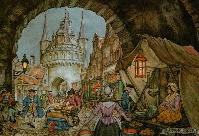 10-Anton-Franciscus Pieck-1895-to-1987-a-life-of-Illustrations-and-Paintings-www-designstack-co