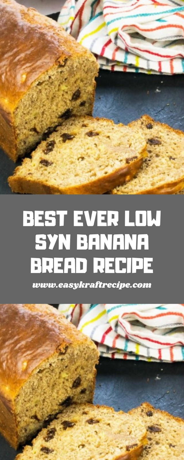 BEST EVER LOW SYN BANANA BREAD