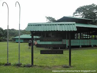 Bienvenida al Parque Nacional Corcovado