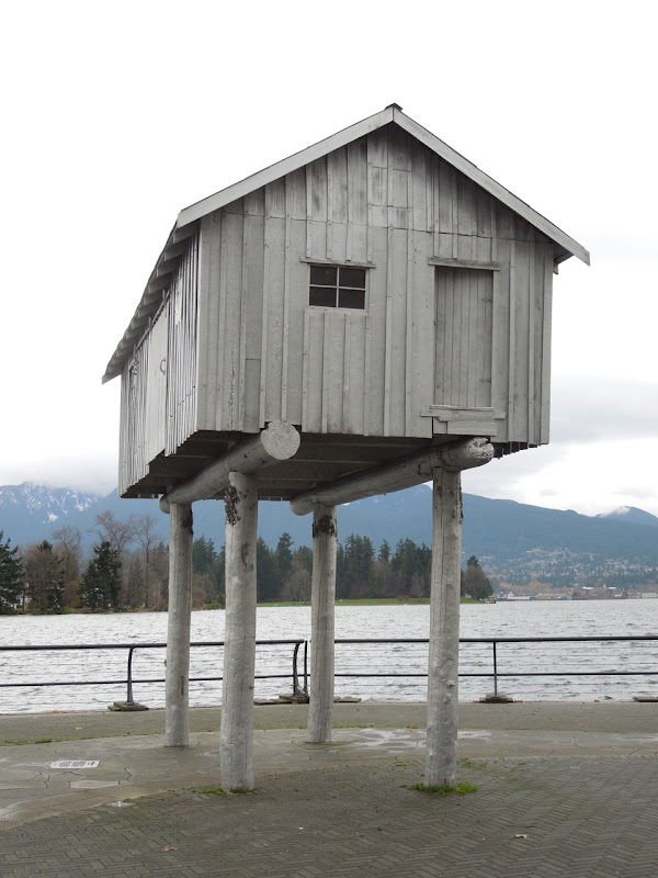 LightShed Liz Magor sculpture Coal Harbour Vancouver