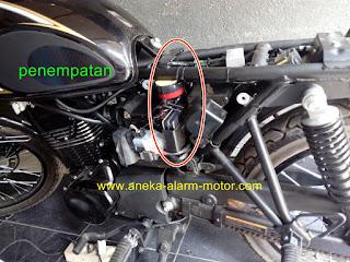 Cara pasang alarm motor Kawasaki W175 SE