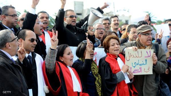 الحكومة التونسية تنهى اعتصام المحتجين فى جنوب تونس