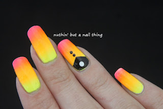 neon nail art design ideas