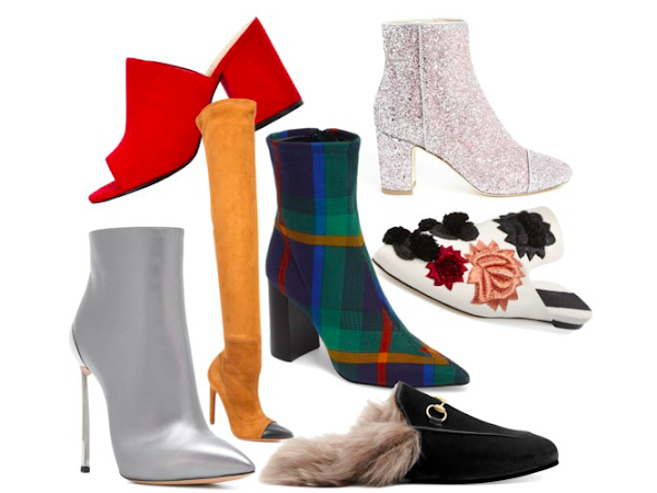 A/W 2017 Trends: Mules, Ankle & Sock Boots + More