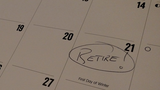Retirement Day Calendar (Winter Is Coming!)