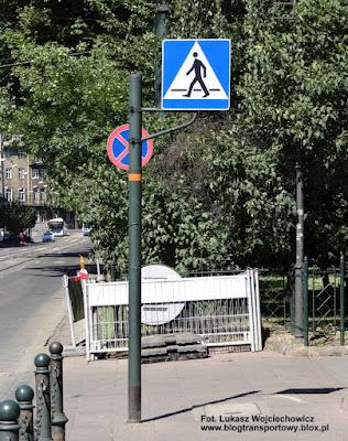 Znak D-6 przejście dla pieszych, Polska