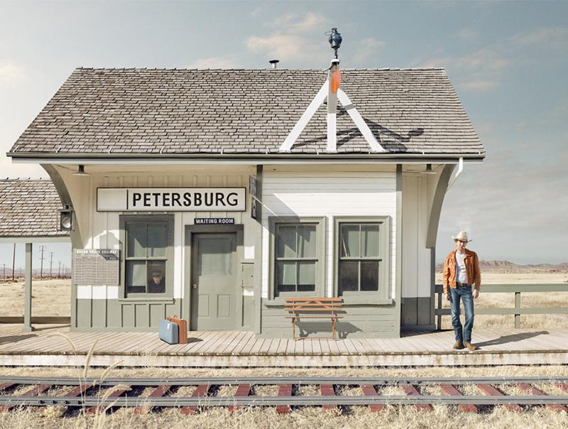 Train, In Pieces, LEGO art installation