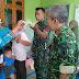 Anggota Koramil 0804/13 Bendo Dampingi Petugas Puskesmas Melaksanakan Vaksin Ori Difteri Di Desa Lemahbang