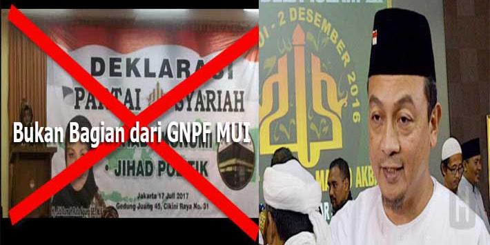 GNPF MUI Tegaskan Tidak Akan Jadi Partai Politik