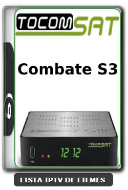Tocomsat Combate S3 Nova Atualização Satélite SKS Keys 61w ON V1.15 - 31/03/2020