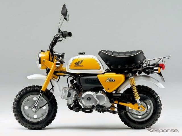 Honda monkey bike pictures gallery