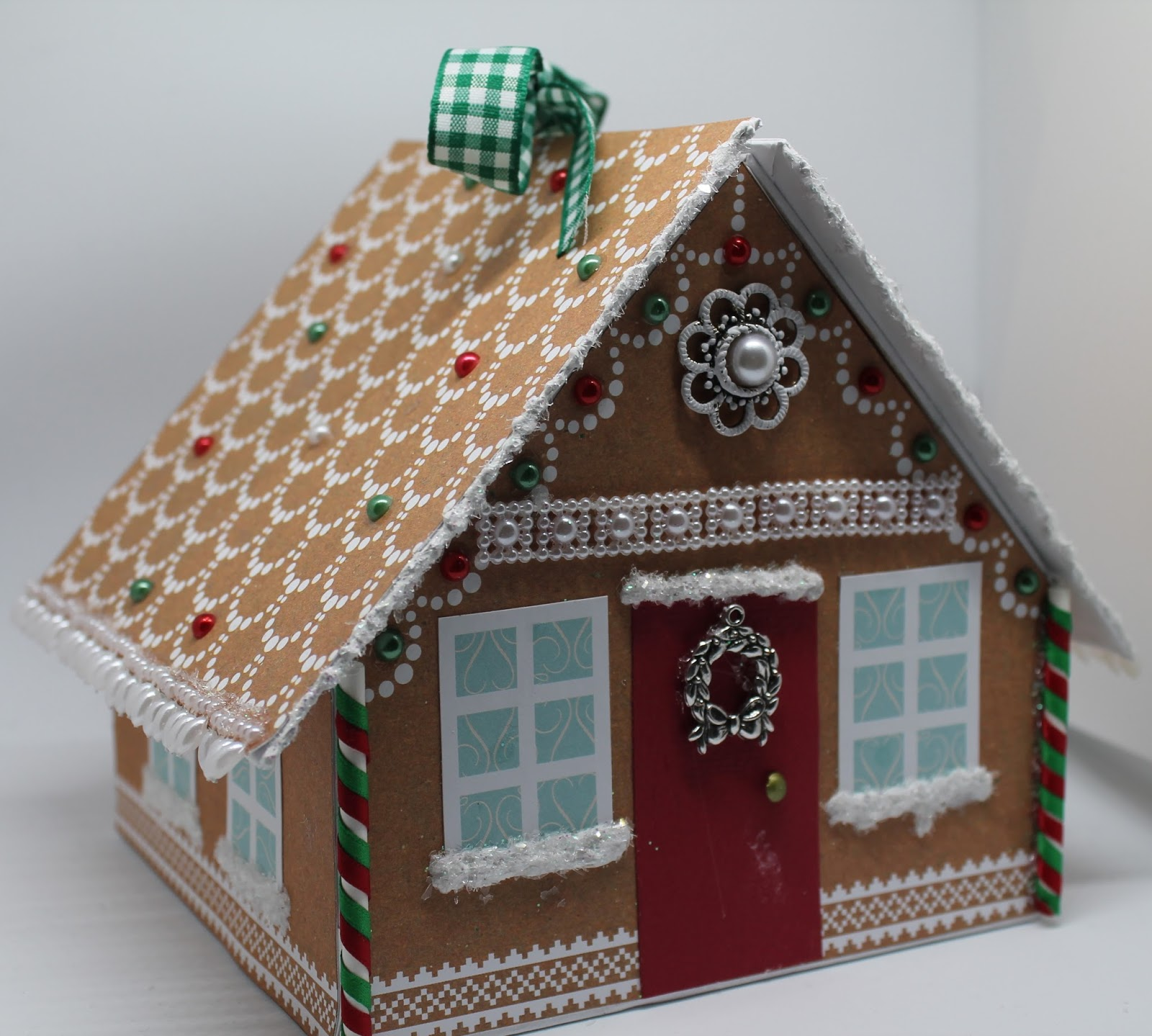 Gingerbread House Gift Boxes