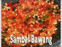 Resep membuat berbagai macam sambal | Part 1