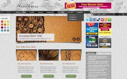 Deluxury Free WordPress Theme