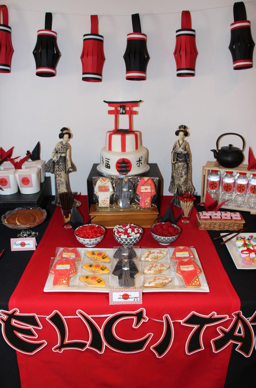 Mardefiesta fiesta japonesa - Mesas japonesas ...