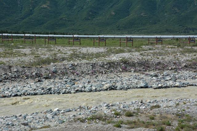 Alaska Pipeline river