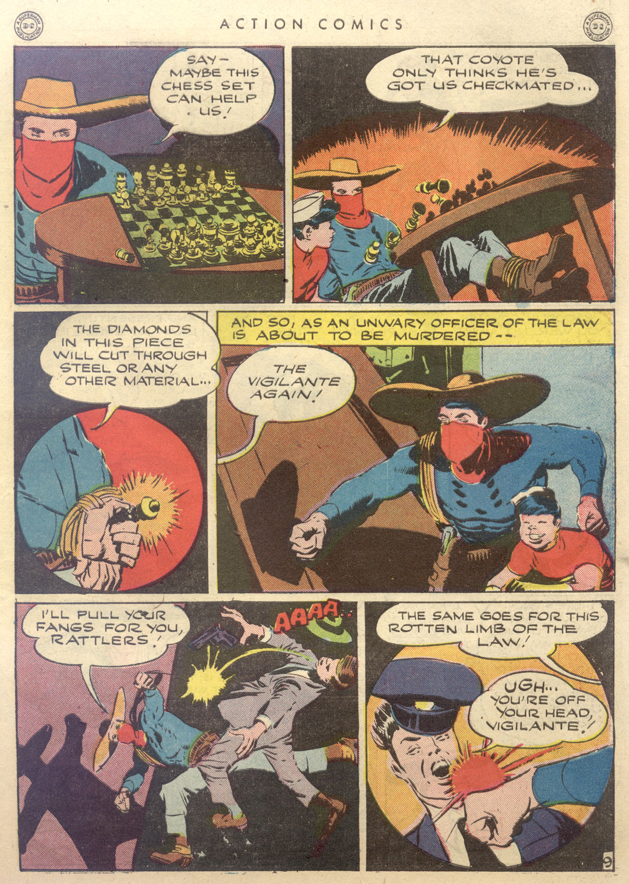 Read online Action Comics (1938) comic -  Issue #88 - 39