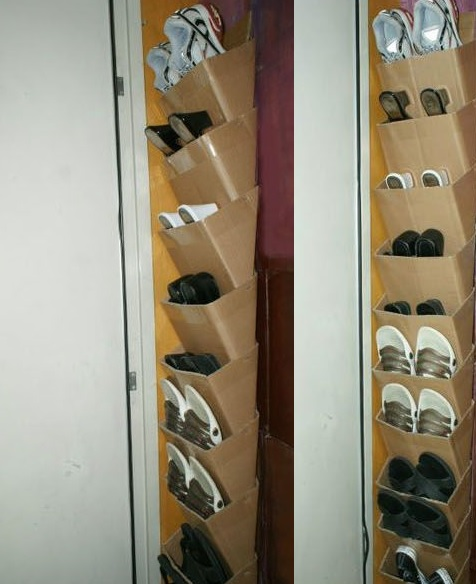 Contoh kreasi barang bekas dari kardus yang keren | Hal-Lima