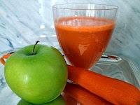 Resep Cara Membuat Jus Buah Apel dan Wortel Yang Enak