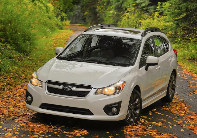 2015 Subaru Impreza 5-door white