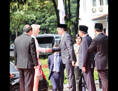 Ridwan Kamil: Kota Bandung Dikunjungi Putri Mahkota Belgia