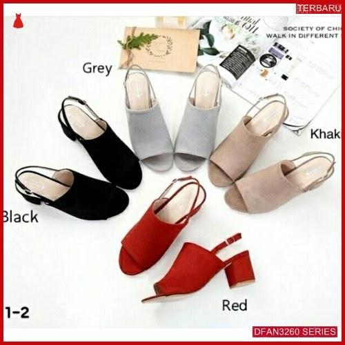 DFAN3260S38 Sepatu Sa 10 Hak Wanita Tahu Sepatu BMGShop