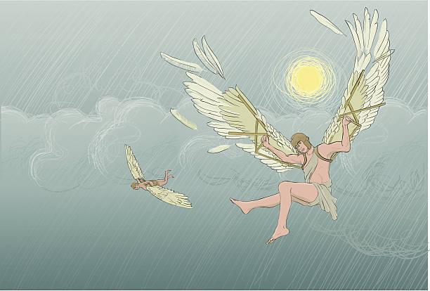 The Tragic Story of the Fall of Icarus | Greek Mythology