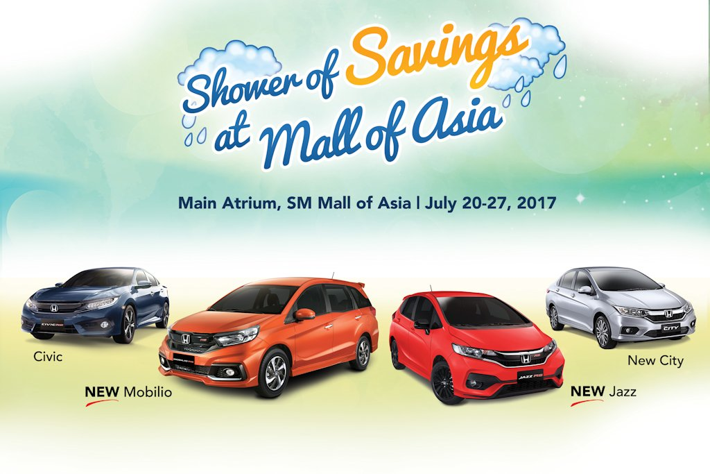 2017 Mobilio >> Honda Displays Refreshed Line-Up at SM Mall of Asia ...