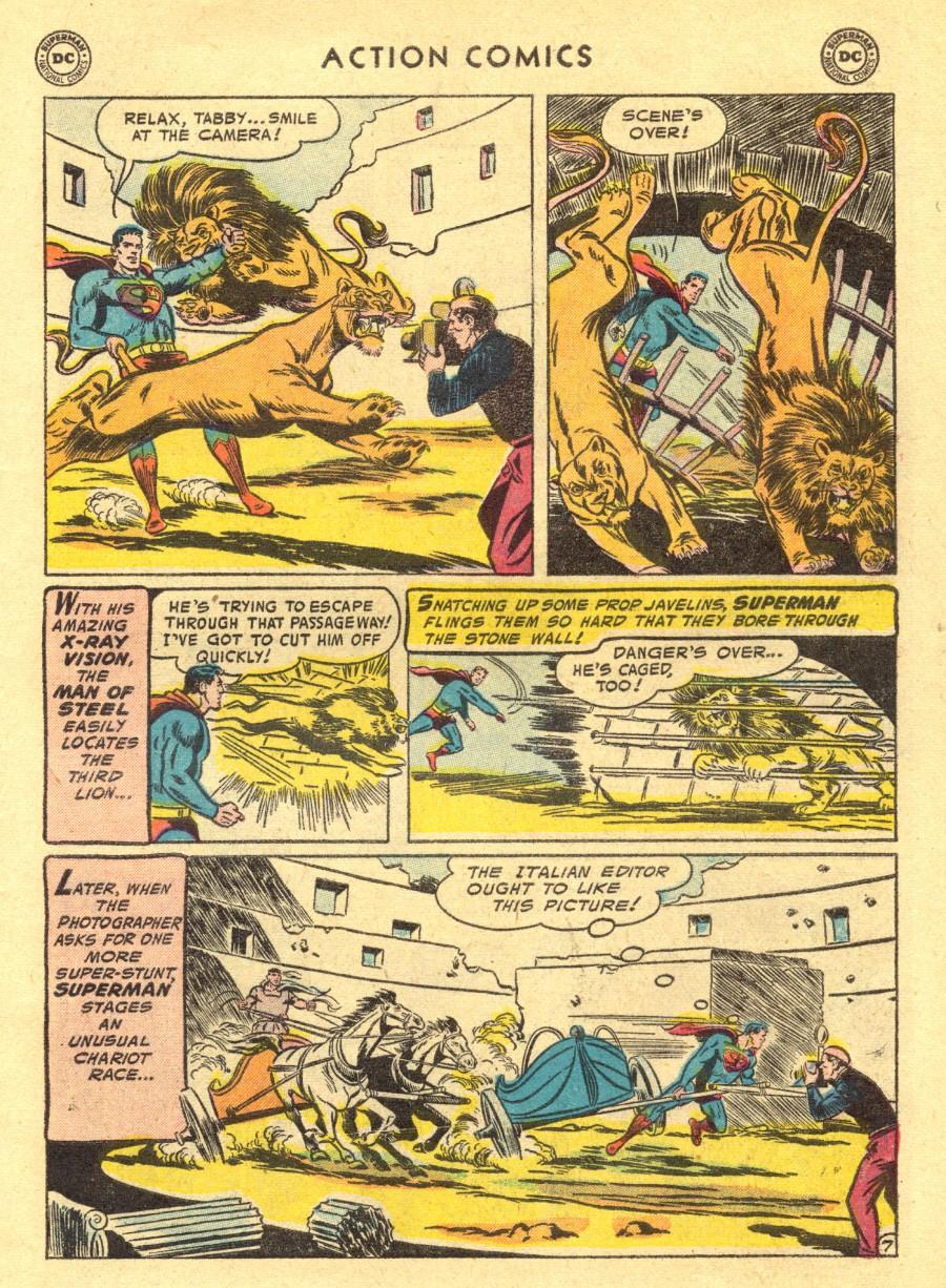 Action Comics (1938) 211 Page 8