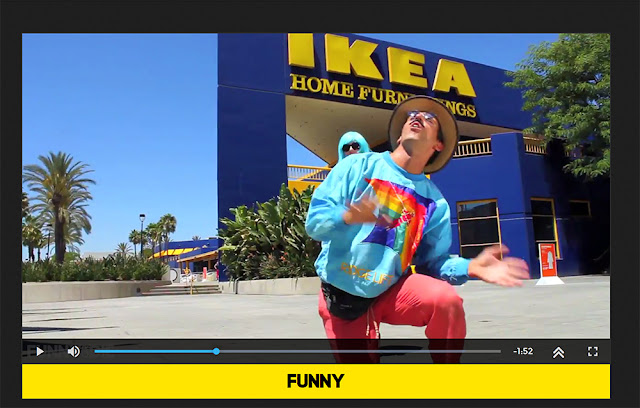 http://www.funnyordie.com/videos/9601843c24/on-shrooms-at-ikea-guadalajara-joe-darien