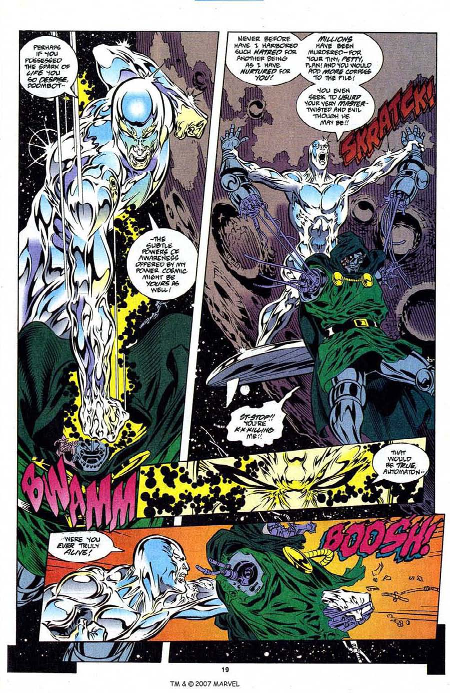 Silver Surfer (1987) Issue #108 #116 - English 21