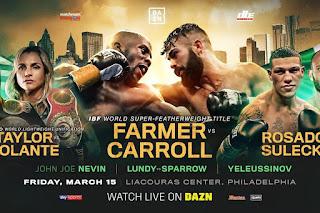 Tevin Farmer vs Jono Carroll Poster