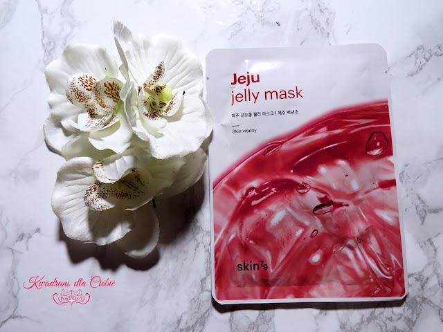 Skin79, maska w płachcie, Jeju Jelly Mask