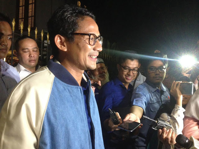 Prabowo 'Marahi' Penonton yang Ketawa, Sandi: Itu Masalah Kedaulatan dan Kehormatan Bangsa