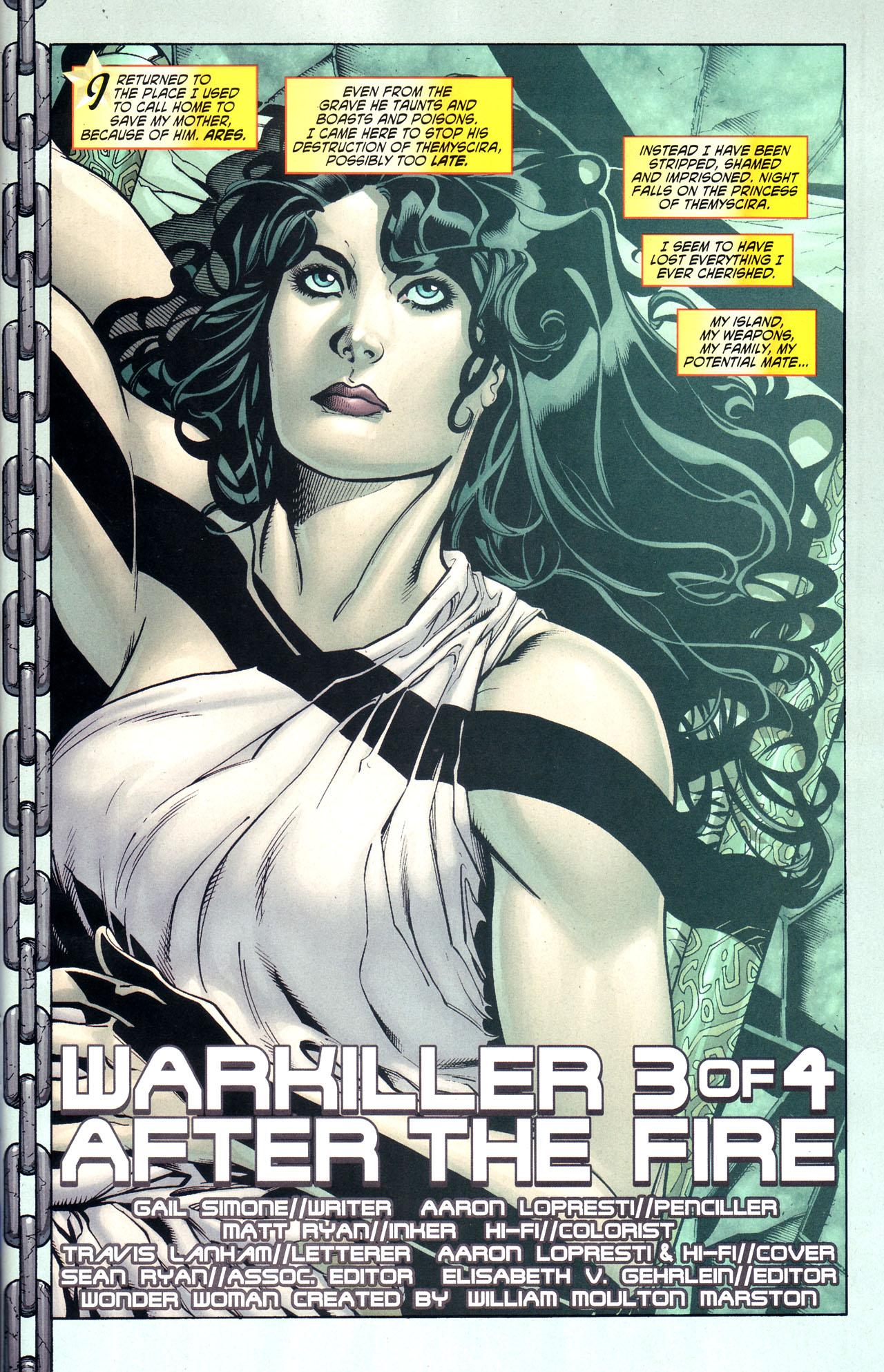 Read online Wonder Woman (2006) comic -  Issue #38 - 2