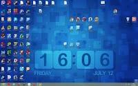 Sfondi desktop con l'orologio e l'ora esatta per il PC