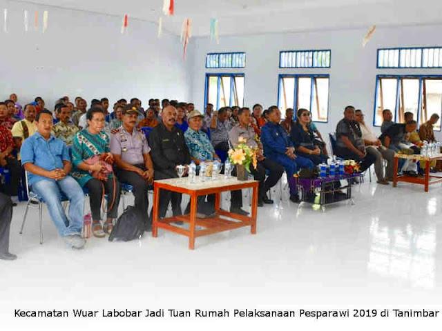 Kecamatan Wuar Labobar Jadi Tuan Rumah Pelaksanaan Pesparawi 2019 di Tanimbar