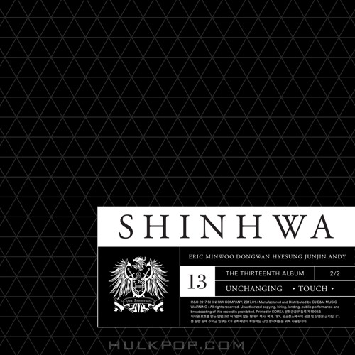 SHINHWA – 13TH UNCHANGING – TOUCH (ITUNES MATCH AAC M4A)