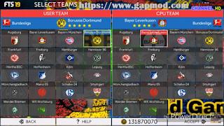 Download FTS 19 Mod by WorldGames Apk Data Obb